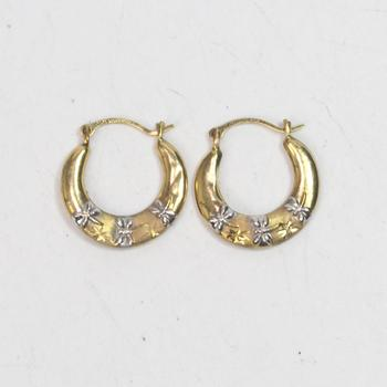 10kt Gold .47g Earrings