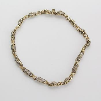 10kt Gold 5.5g Diamond Bracelet