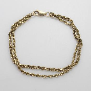 10kt Gold 6g Bracelet