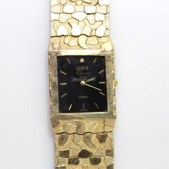 10kt Gold Geneve Classic Watch