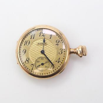 10kt GP Elgin Pocket Watch