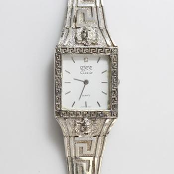 10kt White Gold 48g TW Geneve Watch