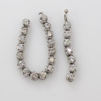 10kt White Gold Diamond Accent Scraps 9.22g