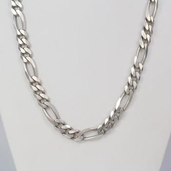 111.04g Silver Chain Necklace