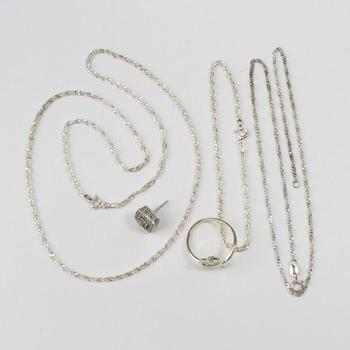 11.63g Silver Jewelry, 5 Pieces