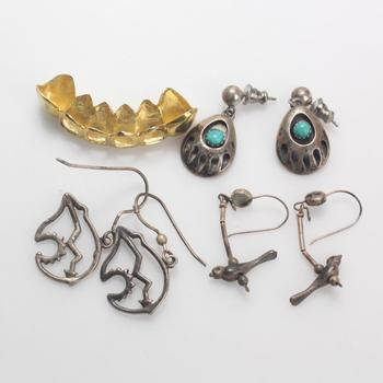 12.26g Silver Jewelry, 7 Pieces