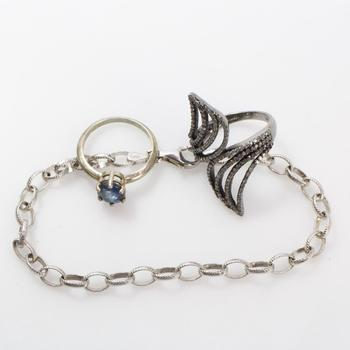 12.3g Silver Jewelry, 3 Pieces