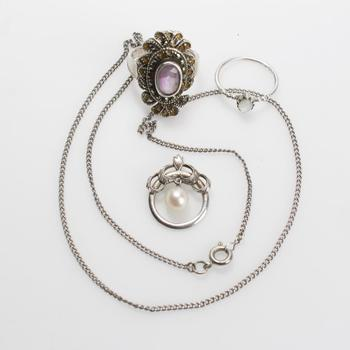 12.59g Silver Jewelry, 4 Pieces