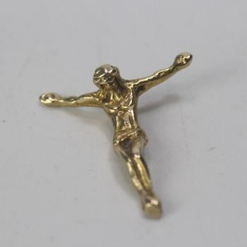 12k Gold 0.60g Religious Pendant