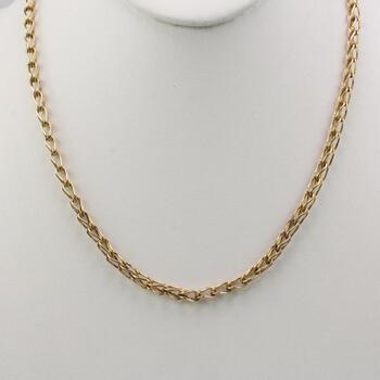 12k Rose Gold Necklace