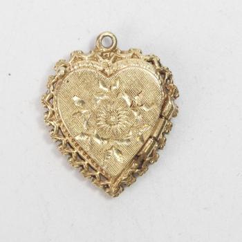 13k Gold 4.65g Heart Locket