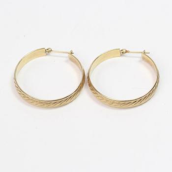 13kt Gold 10.5g Earrings