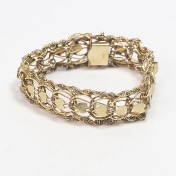 13kt Gold 20.42g Bracelet