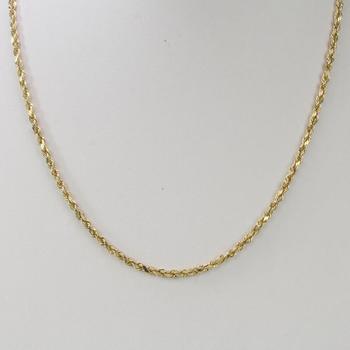 13kt Gold 2.75g Necklace
