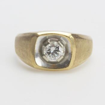 13kt Two-toned Gold 13.25g Diamond Ring