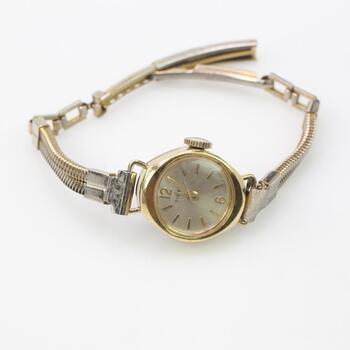 14 K Gold Vintage Timex Watch