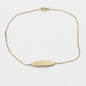 14k GF 1.44g Bracelet