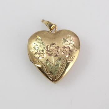 14k GF 2.22g Heart Locket