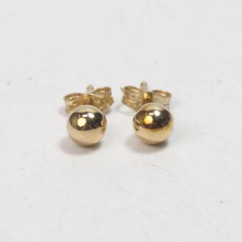 14k Gold 0.19g Earrings