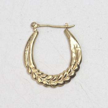 14k Gold 0.50g Earring