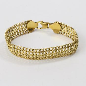 14k Gold 10.12g Bracelet