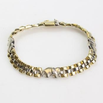 14k Gold 18.62g Bracelet