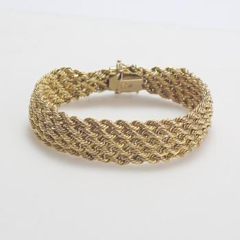14k Gold 20.16g Bracelet