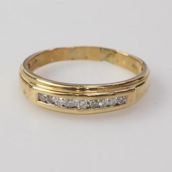 14k Gold 2.55g Diamond Ring