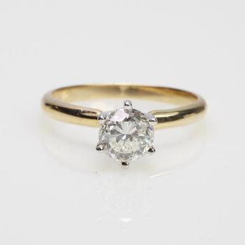 14k Gold 2.62g 1.01ct TW Diamond Ring - Evaluated By Independent Specialist