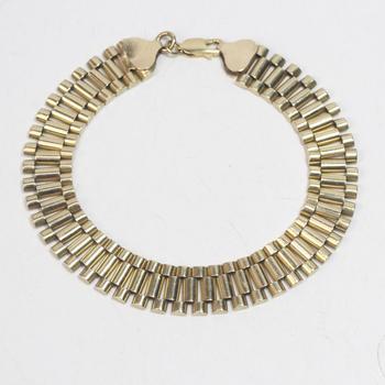 14k Gold 28.39g Bracelet