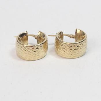 14k Gold 3.07g Earrings