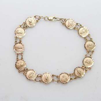14k Gold 7.45g Bracelet