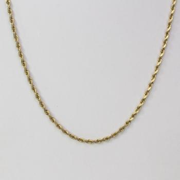14k Gold 9.88g Necklace