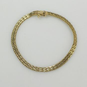 14k Gold Bracelet 9.9g