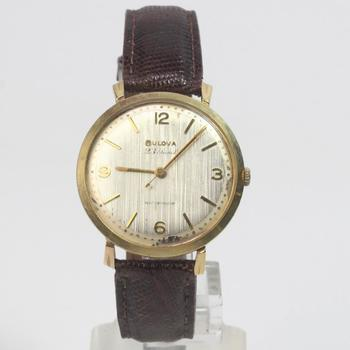 14k Gold Bulova Watch