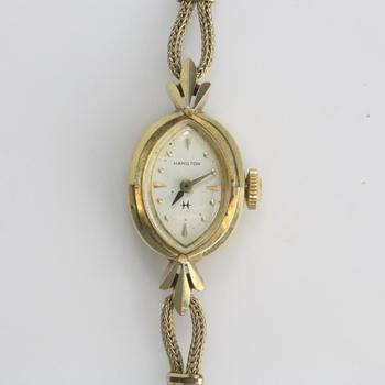 14k Gold Hamilton Watch