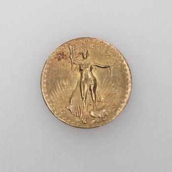 14k Gold Miniature American Eagle $20 Coin