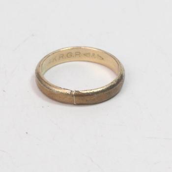 14k GP 2.01g Ring