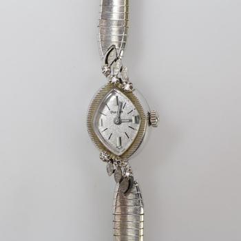 14k White Gold Bulova Diamond Accented Watch