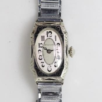 14k White Gold Hallmark Watch