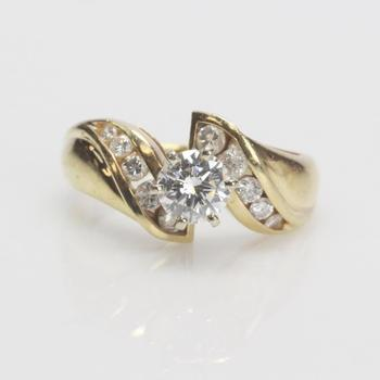 14kt Gold 1.05ct TW Diamond Ring - Evaluated By Independent Specialist