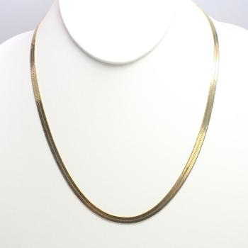 14kt Gold 12.5g Necklace