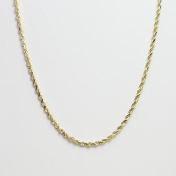 14kt Gold 12g Necklace