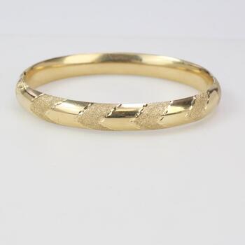14kt Gold 17.10g Bracelet