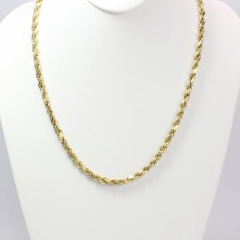 14kt Gold 17.6g Necklace