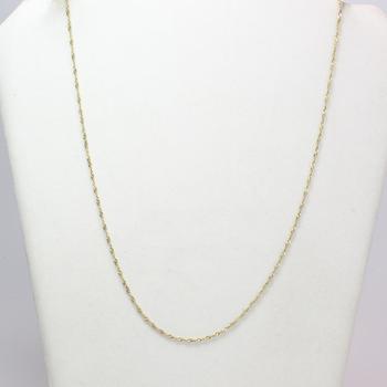 14kt Gold 2.6g Necklace