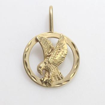 14kt Gold 2.74g Eagle Pendant
