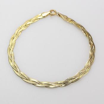 14kt Gold 2.9g Bracelet