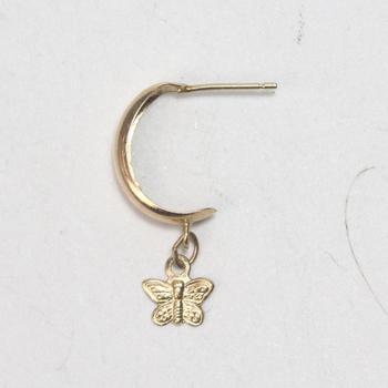 14kt Gold .4g Earring