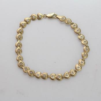 14kt Gold 5.11g Bracelet